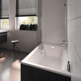 Kaldewei Puro & Puro Star Rechteck-Badewanne, Einbau weiß mit Perl-Effekt