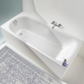 Kaldewei Saniform Plus & Saniform Plus Star Rechteck-Badewanne, Einbau weiß