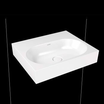Kaldewei Centro Wandwaschtisch weiß, ohne Hahnloch