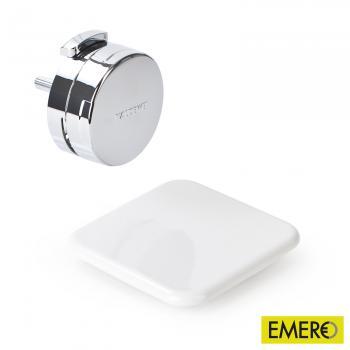 Kaldewei Comfort-Level Plus Ab- und Überlaufgarnitur mit Füllfunktion für Conoduo weiß/chrom