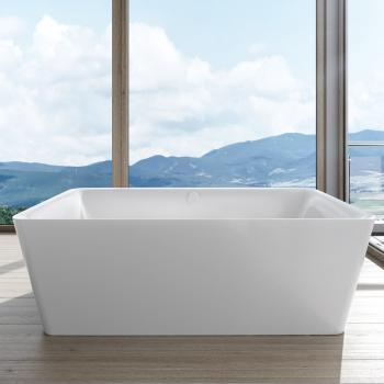 Kaldewei Meisterstück Incava Freistehende Badewanne mit Füllfunktion