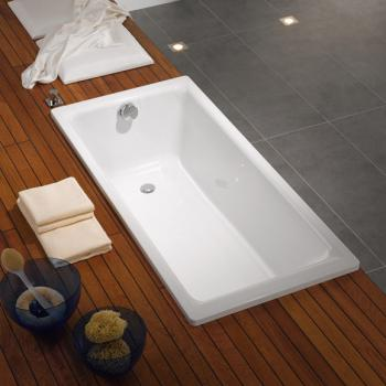 Kaldewei Puro Rechteck-Badewanne weiß