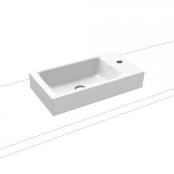 Kaldewei Puro Aufsatz-Handwaschtisch mit 1 Hahnloch