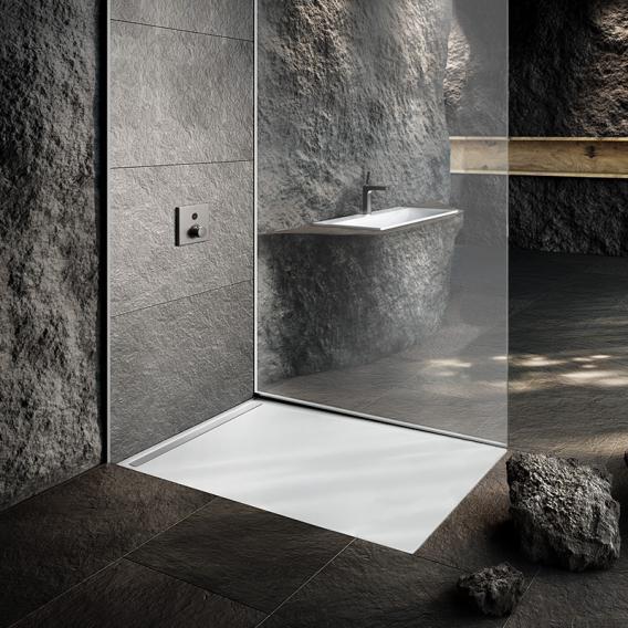 Kaldewei Nexsys Bodenebene Duschfläche weiß