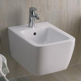 Geberit iCon Square Wand-Bidet weiß mit Keratect