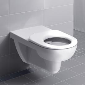 Geberit Renova Comfort Wand-Tiefspül-WC ohne Spülrand, weiß, mit KeraTect