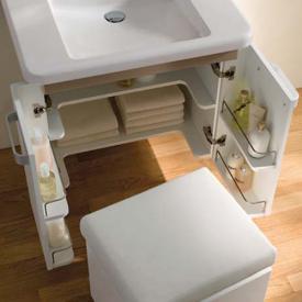Geberit Renova Comfort Zwischenbodenset (2 stk) mit Ausschnitt, unterfahrbar B:63cm