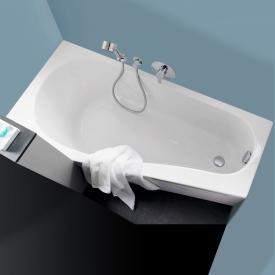 Geberit Renova Compact  Raumspar-Badewanne, Einbau weiß