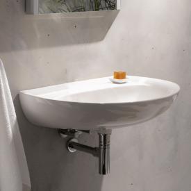 Geberit Renova Waschtisch weiß ohne Hahnloch ohne Überlauf