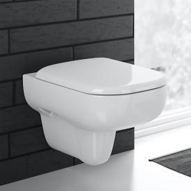 Geberit Smyle Wand-Tiefspül-WC mit Spülrand, weiß
