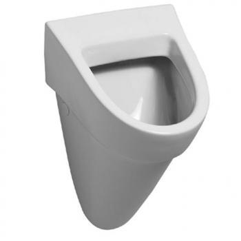 Geberit Flow Urinal Zulauf von hinten, Abgang nach hinten B: 36 H: 56,5 T: 33 cm weiß