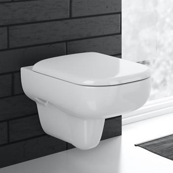 Geberit Smyle Wand-Tiefspül-WC weiß