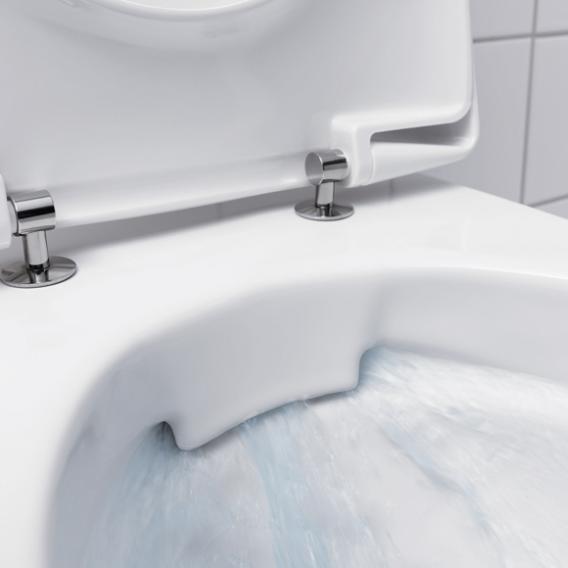 Geberit iCon Wand-Tiefspül-WC ohne Spülrand, weiß, mit KeraTect