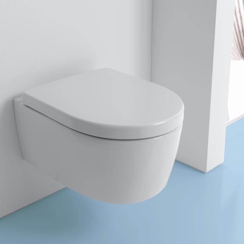 Fabulous Geberit iCon Wand-Tiefspül-WC ohne Spülrand weiß mit KeraTect VC62