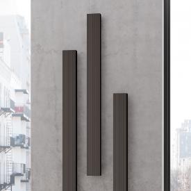 Kermi Decor-Arte Line Badheizkörper einzeln für Warmwasserbetrieb braun metallic, 586 Watt