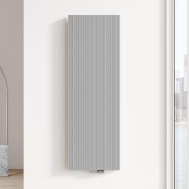 Kermi Decor-Arte Line Badheizkörper für Warmwasserbetrieb aluminium metallic, 1836 Watt