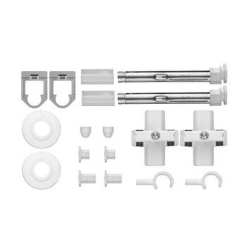 Kermi Decor Grundsortiment Bohrkonsolen-Set, Mehrsäuler bis Bauhöhe 105 cm