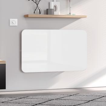 Kermi Elveo Badheizkörper vertikal für rein elektrischen Betrieb weiß, 510 Watt, mit Elektro-Set WKS in weiß