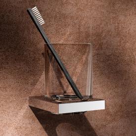Keuco Edition 90 Square Glashalter mit Echtkristall-Glas