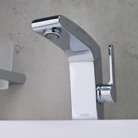 Keuco Elegance Einhebel-Waschtischmischer 120 ohne Ablaufgarnitur