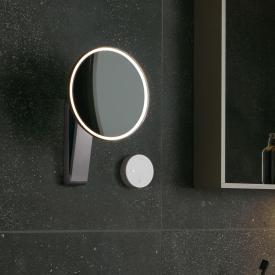 Keuco iLook_move Kosmetikspiegel, Unterputz-Kabelführung, Lichtfarbe einstellbar