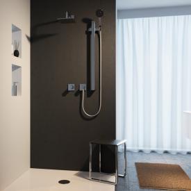 Keuco IXMO Duschsystem, mit Thermostat IXMO Pure & Brause-Set Edition 11, eckig