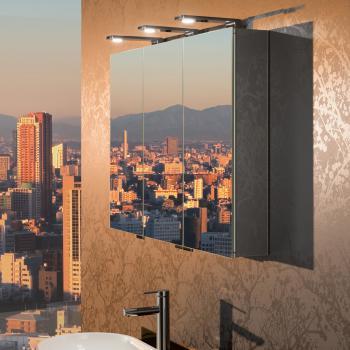 Keuco Royal Universe Spiegelschrank mit 3 Türen