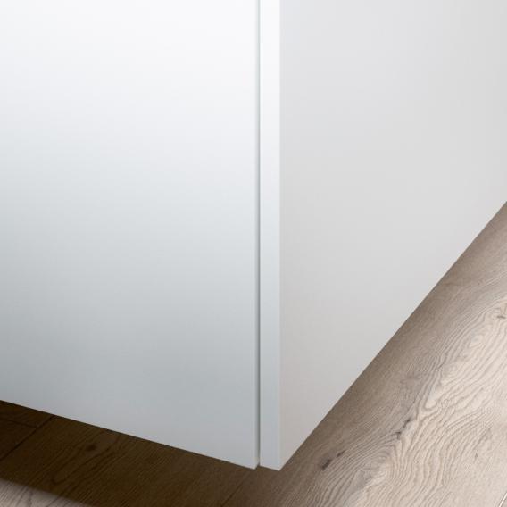 Keuco Edition 90 Sideboard mit 1 Auszug Front weiß matt / Korpus weiß matt