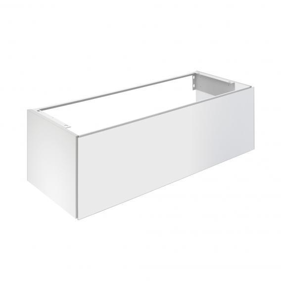 Keuco X-Line Waschtischunterschrank für Einbauwaschtisch mit 1 Auszug Front weiß / Korpus weiß matt