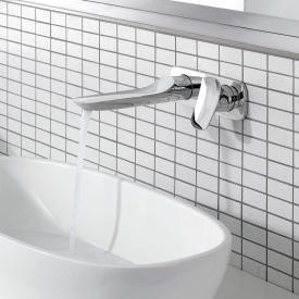Kludi AMBA Unterputz-Waschtisch-Zweiloch-Wand-Einhandmischer Ausladung: 226 mm