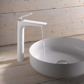 Kludi BALANCE Waschtischarmatur ohne Ablaufgarnitur chrom/weiß