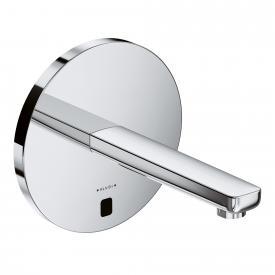 Kludi ZENTA Elektronische Waschtischarmatur, runde Rosette, ohne Temperaturwählgriff Ausladung: 190 mm