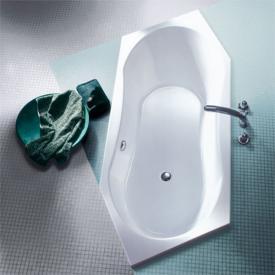Koralle T200 Sechseck-Badewanne, Einbau weiß