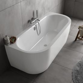 Koralle T700 Vorwand-Badewanne weiß / weiß