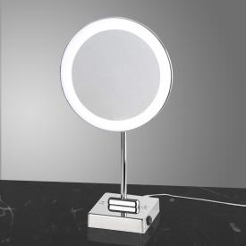 KOH-I-NOOR DISCOLO LED Stand-Kosmetikspiegel, Vergrößerung 3x, mit Stecker