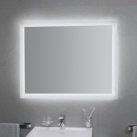 KOH-I-NOOR MATE 4 Spiegel mit LED-Beleuchtung aluminium