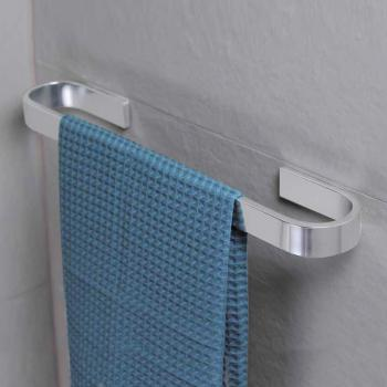 KOH-I-NOOR MATERIA Handtuchhalter aluminium glanz