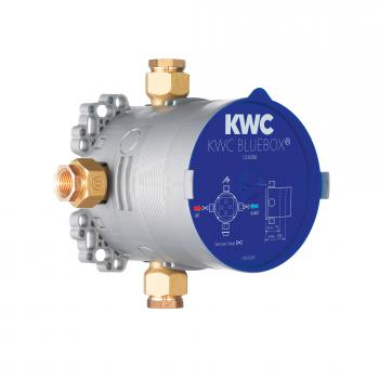 KWC Bluebox Unterputz-Einheit, Gewinde 3/4 Zoll mit Vorabsperrung
