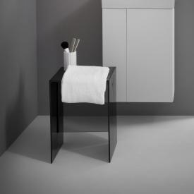 Kartell by Laufen Hocker rauchgrau