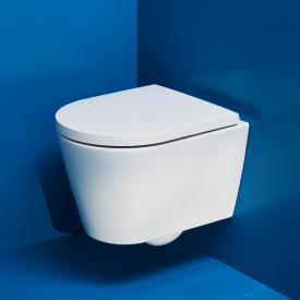 Kartell by Laufen Wand-Tiefspül-WC Compact, spülrandlos weiß, mit CleanCoat