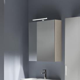 Laufen Base Spiegelschrank mit LED-Beleuchtung ulme hell, Anschlag links