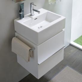 Laufen Case for Living City Waschtischunterschrank mit 2 Auszügen Front weiß glanz / Korpus weiß glanz