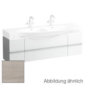Laufen Case for Palace Waschtischunterschrank mit 2 Auszügen und 2 Türen Front eiche gekalkt / Korpus eiche gekalkt