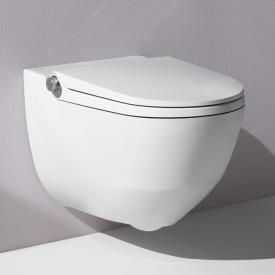LAUFEN Cleanet Riva Dusch-WC Komplettanlage, mit WC-Sitz weiß matt