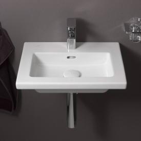 Laufen Living Square Handwaschbecken mit 1 Hahnloch, ungeschliffen