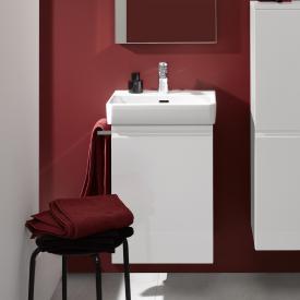 LAUFEN Pro A Handwaschbeckenunterschrank mit 1 Tür Front weiß matt / Korpus weiß matt