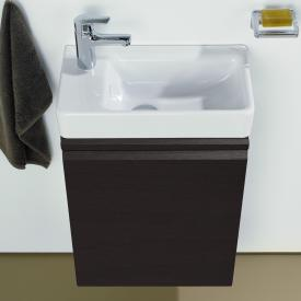 LAUFEN Pro S Handwaschbeckenunterschrank mit 1 Tür Front wenge / Korpus wenge
