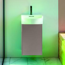 LAUFEN SONAR Handwaschbeckenunterschrank mit 1 Tür Front titan / Korpus titan