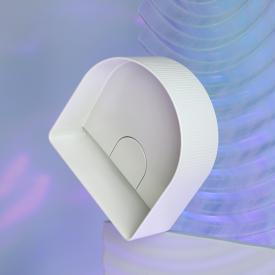 LAUFEN SONAR Waschtisch-Schale mit Textur weiß