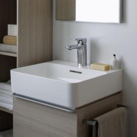 Laufen VAL Handwaschbecken weiß, mit Clean Coat, mit 1 Hahnloch, ungeschliffen, mit Überlauf